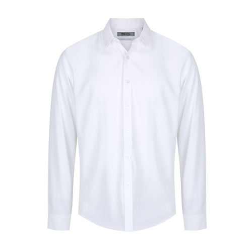 Plain White Bamboo Shirt