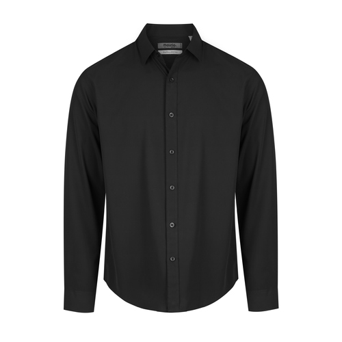 King Size Black Bamboo Shirt