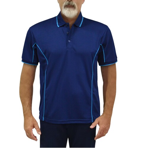Piped Podium Polo Top